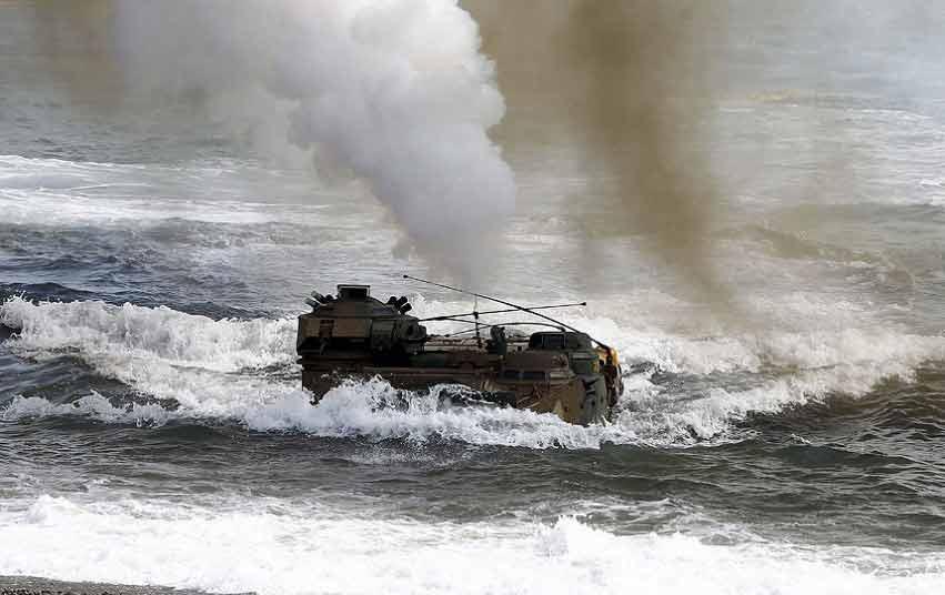 Chùm ảnh: Quân đội Mỹ - Hàn tập trận đổ bộ - 12