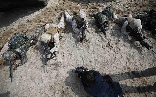 Chùm ảnh: Quân đội Mỹ - Hàn tập trận đổ bộ - 3