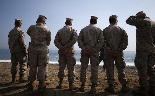 Chùm ảnh: Quân đội Mỹ - Hàn tập trận đổ bộ - 8