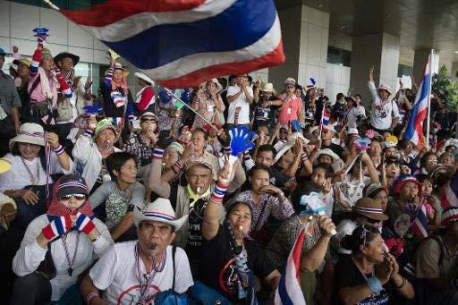 Thái Lan: Xả súng vào đoàn biểu tình, 5 người thương vong - 1