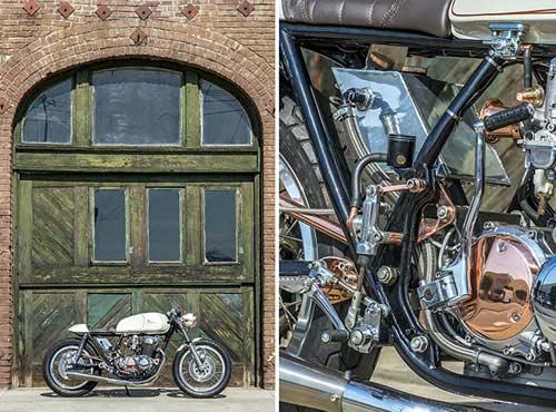 Honda CB750 tỏa sáng với đồng và crôm - 3