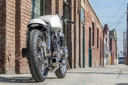 Honda CB750 tỏa sáng với đồng và crôm - 5