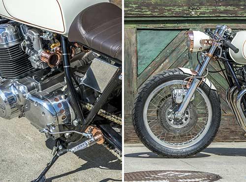 Honda CB750 tỏa sáng với đồng và crôm - 8