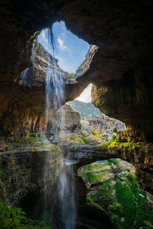 Chiêm ngưỡng ngọn thác ngoạn mục ở Lebanon - 3