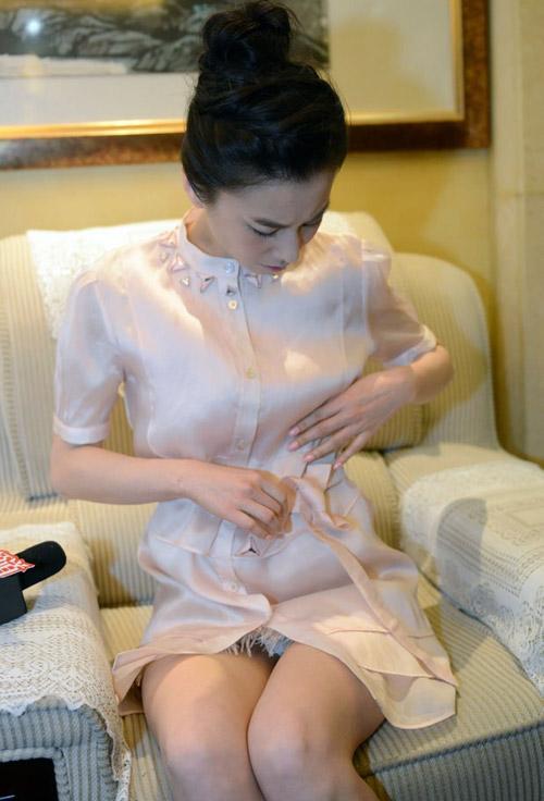 Fan vỡ mộng vì mặt mộc của mỹ nữ Trung Quốc - 9