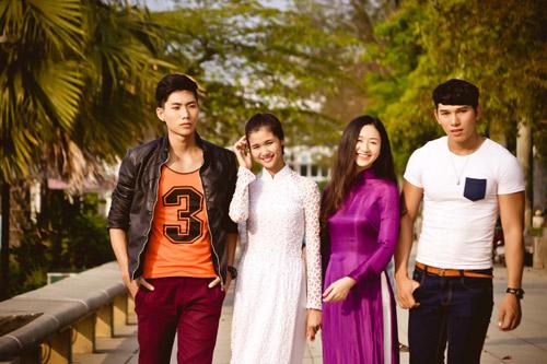 Ngọc Tình, Hữu Long đóng phim mừng Festival Huế - 1