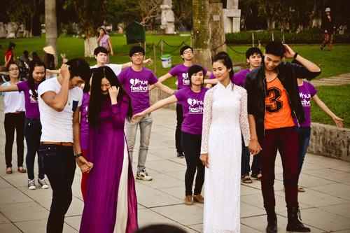 Ngọc Tình, Hữu Long đóng phim mừng Festival Huế - 3