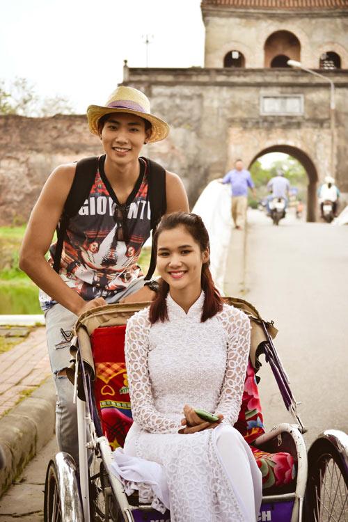 Ngọc Tình, Hữu Long đóng phim mừng Festival Huế - 5