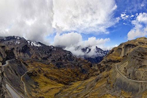 Kỳ ảo dãy núi Andes ở Nam Mỹ - 2