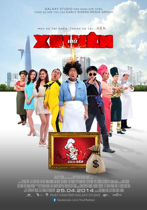 13 phim làm nóng rạp Việt tháng 4 - 8