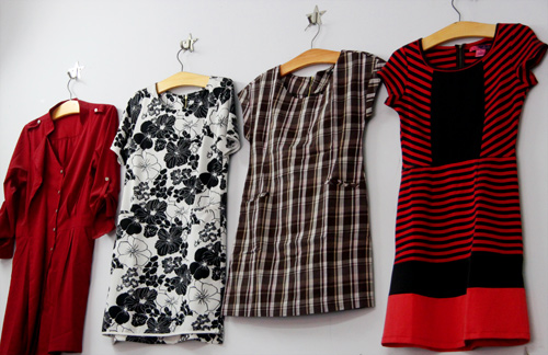 """Váy 200 ngàn đồng """"hút"""" chị em công sở - 5"""
