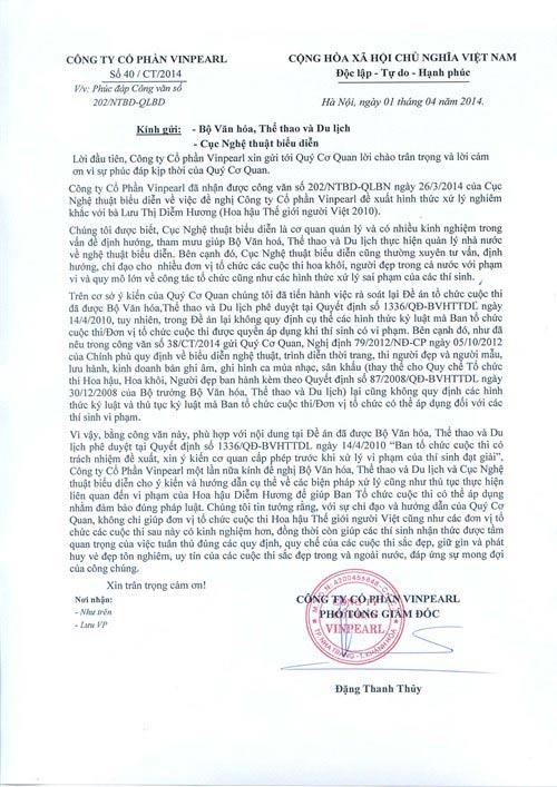 BTC không dám tước vương miện Diễm Hương - 1