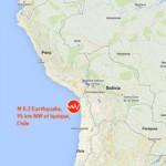Tin tức trong ngày - Động đất mạnh gây sóng thần ở Chile