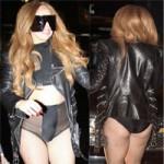 Thời trang - Lady Gaga kỳ cục khoe nội y