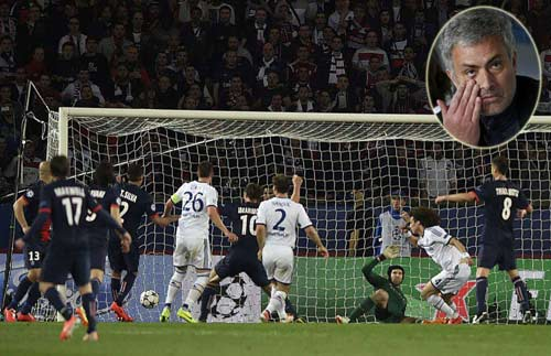 """Mourinho """"sốc"""" với cách phòng ngự của Chelsea - 1"""