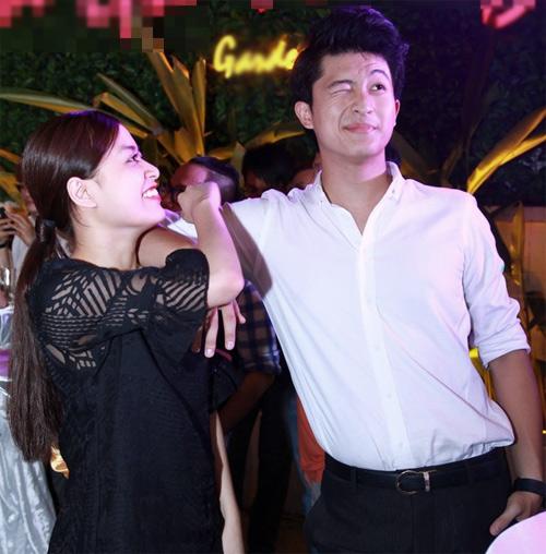 Hoàng Thùy Linh rạng rỡ bên bạn trai tin đồn - 3