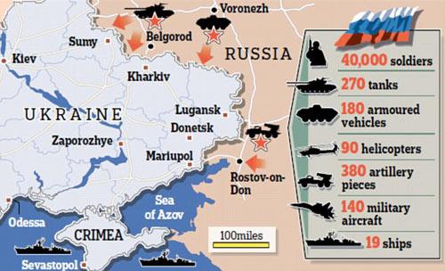 """NATO: Nga có thể """"nuốt trọn"""" Ukraine trong 3 ngày - 2"""