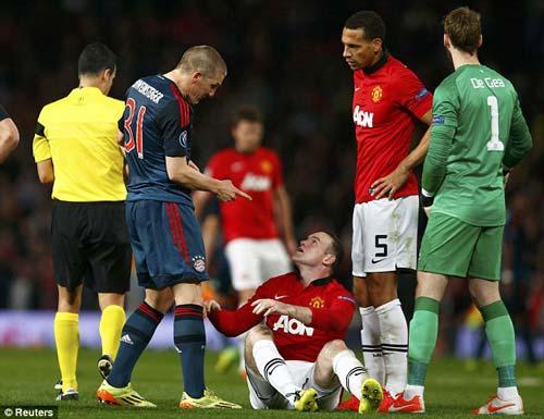 "Rooney phủ nhận ""ăn vạ"" trước Schweinsteiger - 4"