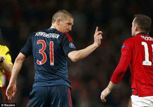"Rooney phủ nhận ""ăn vạ"" trước Schweinsteiger - 5"