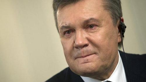 """Yanukovych khóc tuyên bố """"đòi"""" Crimea từ tay Nga - 1"""