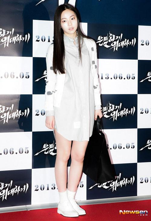 """Mỹ nữ Hàn """"đốn tim"""" fan nhờ màu trắng - 10"""