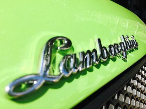 Lamborghini Murcielago xanh cốm thay biển số xe - 5