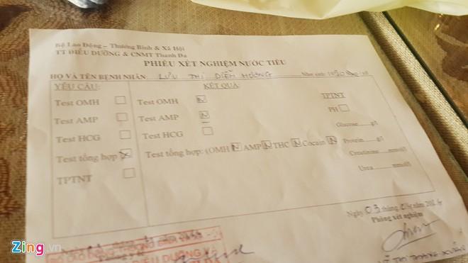 Diễm Hương đi xét nghiệm ma túy - 2