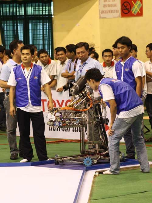 Robocon Việt Nam 2014 chính thức khai màn - 2