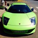 Ô tô - Xe máy - Lamborghini Murcielago xanh cốm thay biển số xe