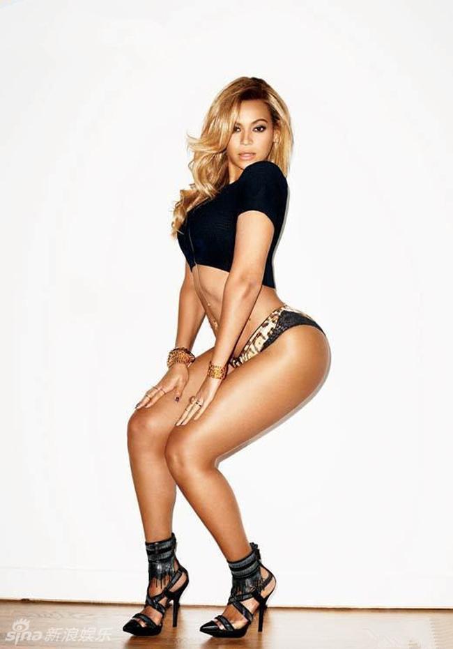 Beyonce nổi tiếng là nữ diva sexy nhất thế kỷ 21.