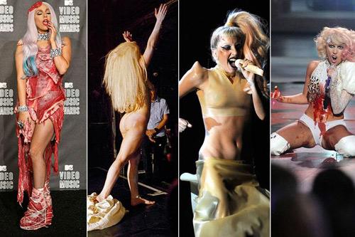 Lady Gaga và 9 lần nổi loạn nhất - 1