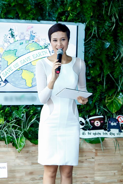 Phương Mai làm MC sự kiện Kim Soo Hyun - 1