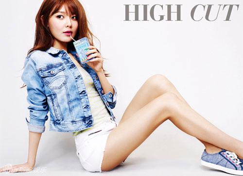 """""""Run rẩy"""" ngắm chân đẹp của mỹ nữ Hoa - Hàn - 12"""