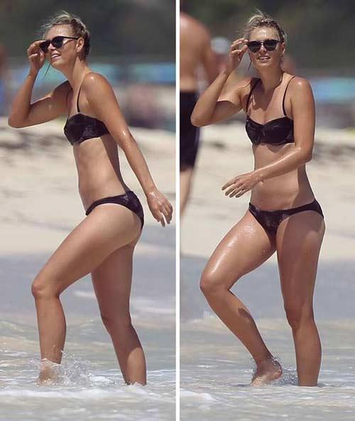 """Sharapova khoe """"dáng ngọc"""" cùng bikini - 5"""