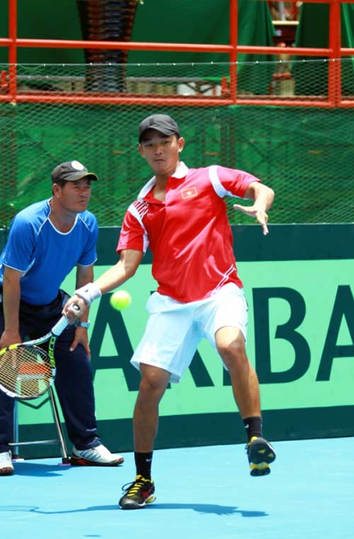 Minh Quân tỏa sáng ở Davis Cup - 1