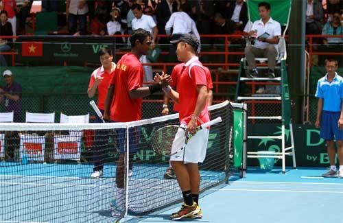 Minh Quân tỏa sáng ở Davis Cup - 3