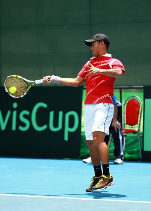 Minh Quân tỏa sáng ở Davis Cup - 2
