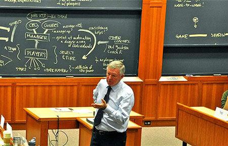 Sir Alex sắp làm giảng viên Đại học Harvard - 1