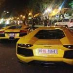 Ô tô - Xe máy - 5 siêu xe Lamborghini tụ họp ở Sài Gòn