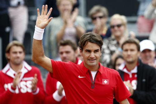 Federer - Kukushkin: Áp lực nặng nề (TK Davis Cup) - 1