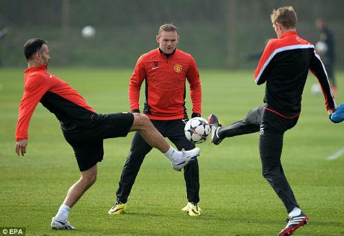 MU có thể mất Rooney ở trận tái đấu Bayern - 1