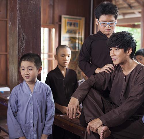 Nhật Cường thuyết phục con trai đóng phim - 5