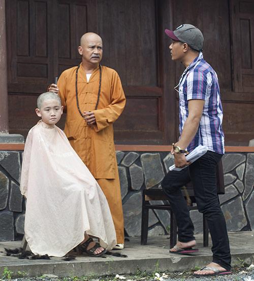 Nhật Cường thuyết phục con trai đóng phim - 3