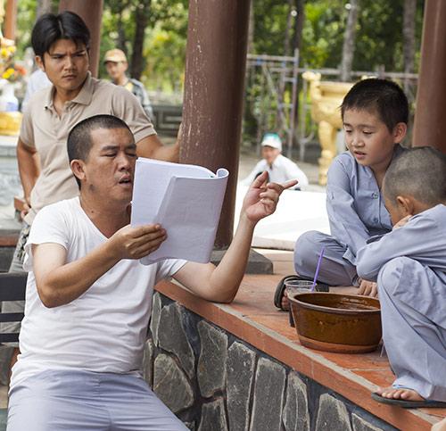Nhật Cường thuyết phục con trai đóng phim - 2