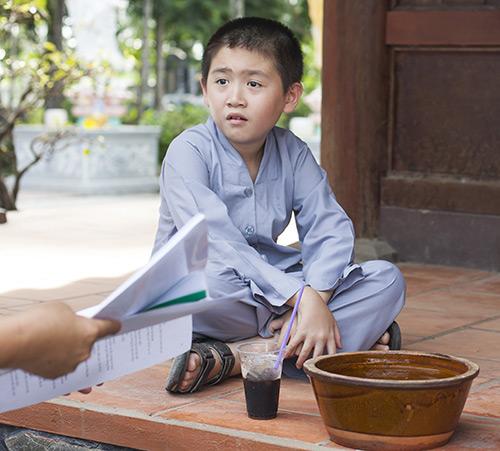 Nhật Cường thuyết phục con trai đóng phim - 1