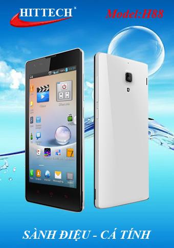 Smartphone giá rẻ Hittech H88 lên kệ - 1