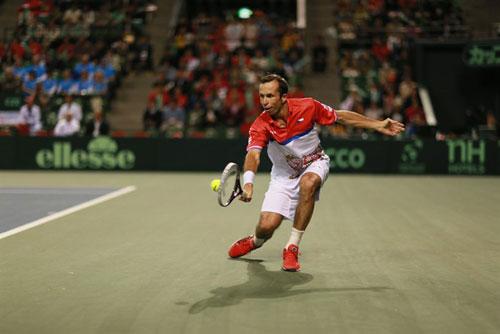 TK Davis Cup ngày 1: Federer cứu Thụy Sĩ - 4