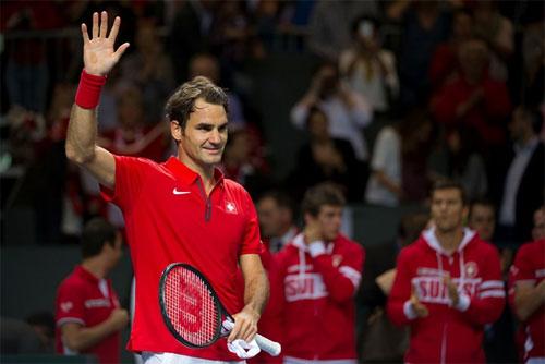 TK Davis Cup ngày 1: Federer cứu Thụy Sĩ - 1