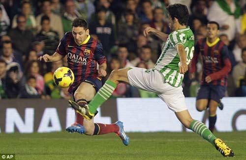 Barca – Betis: Lấy đồ trong túi - 2