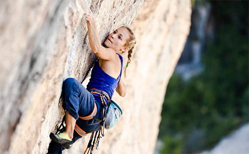 """Cô gái 21 tuổi trở thành """"nữ hoàng leo núi"""" - 2"""